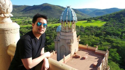 บนจุดสูงสุดของโรงแรม The Palace, The Lost City สถานที่ถ่ายทำภาพยนตร์ Blended